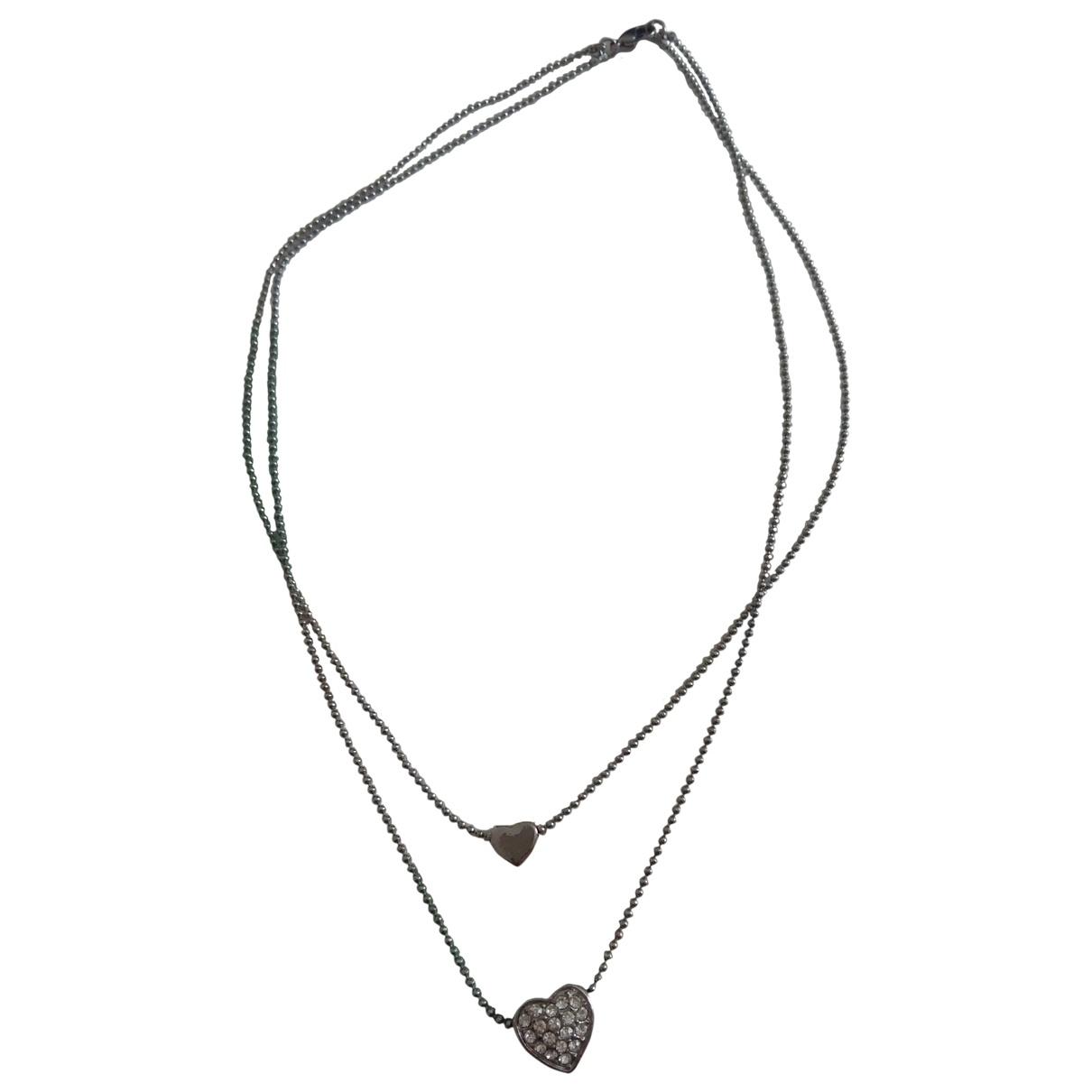Collar Motifs Coeurs Non Signe / Unsigned