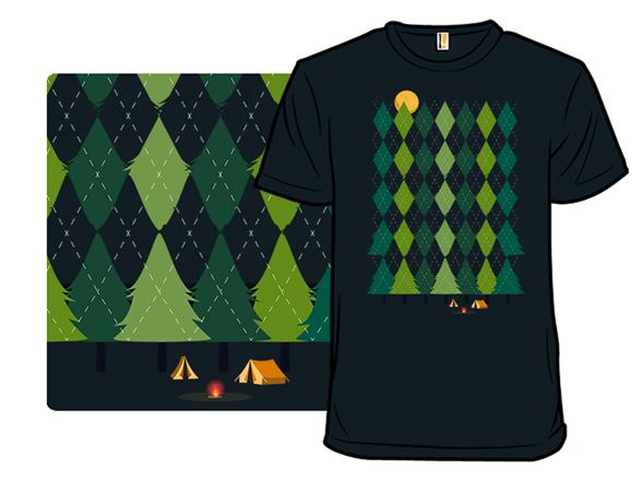Camping Sweater T Shirt