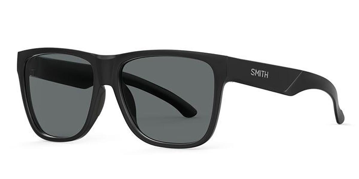 Smith LOWDOWN SLIM 2 807/IR Men's Sunglasses Black Size 53