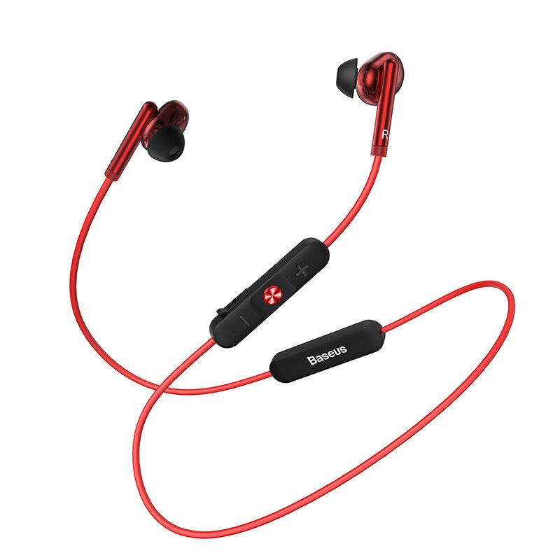 Baseus Encok S30 Wireless bluetooth 5.0 Earphone HiFi Stereo Sports IPX5 Waterproof Headphone with Mic