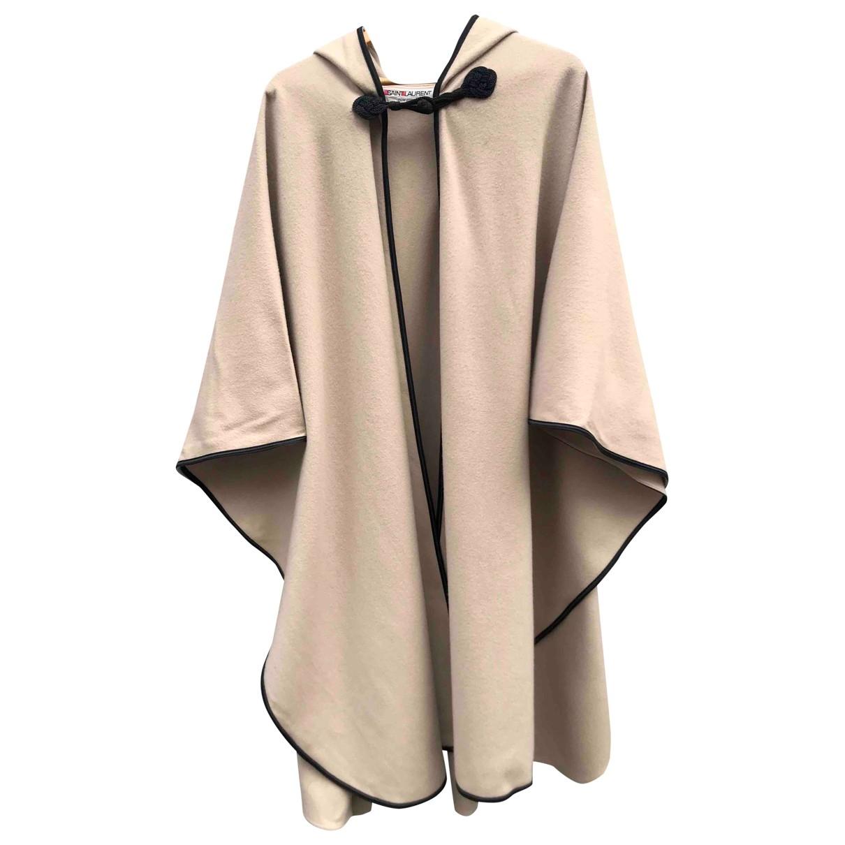 Yves Saint Laurent - Veste   pour femme en laine - beige