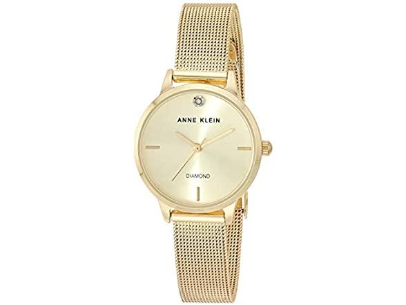 Anne Klein Diamond Bracelet Watch