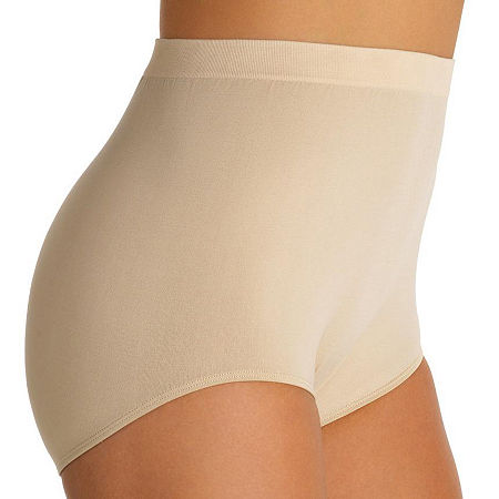 Vanity Fair Perfectly Yours Seamless Tailored Briefs - 13083, 10-11 , Beige