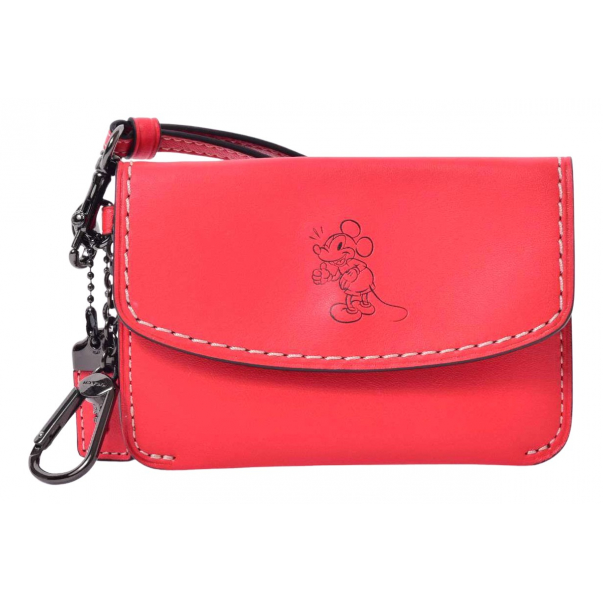 Coach \N Red Leather wallet for Women \N