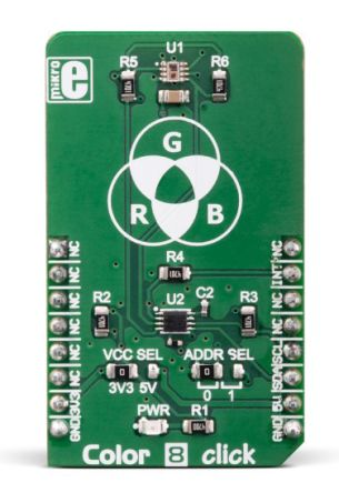 MikroElektronika , MIKROE-3213, Color 8 C