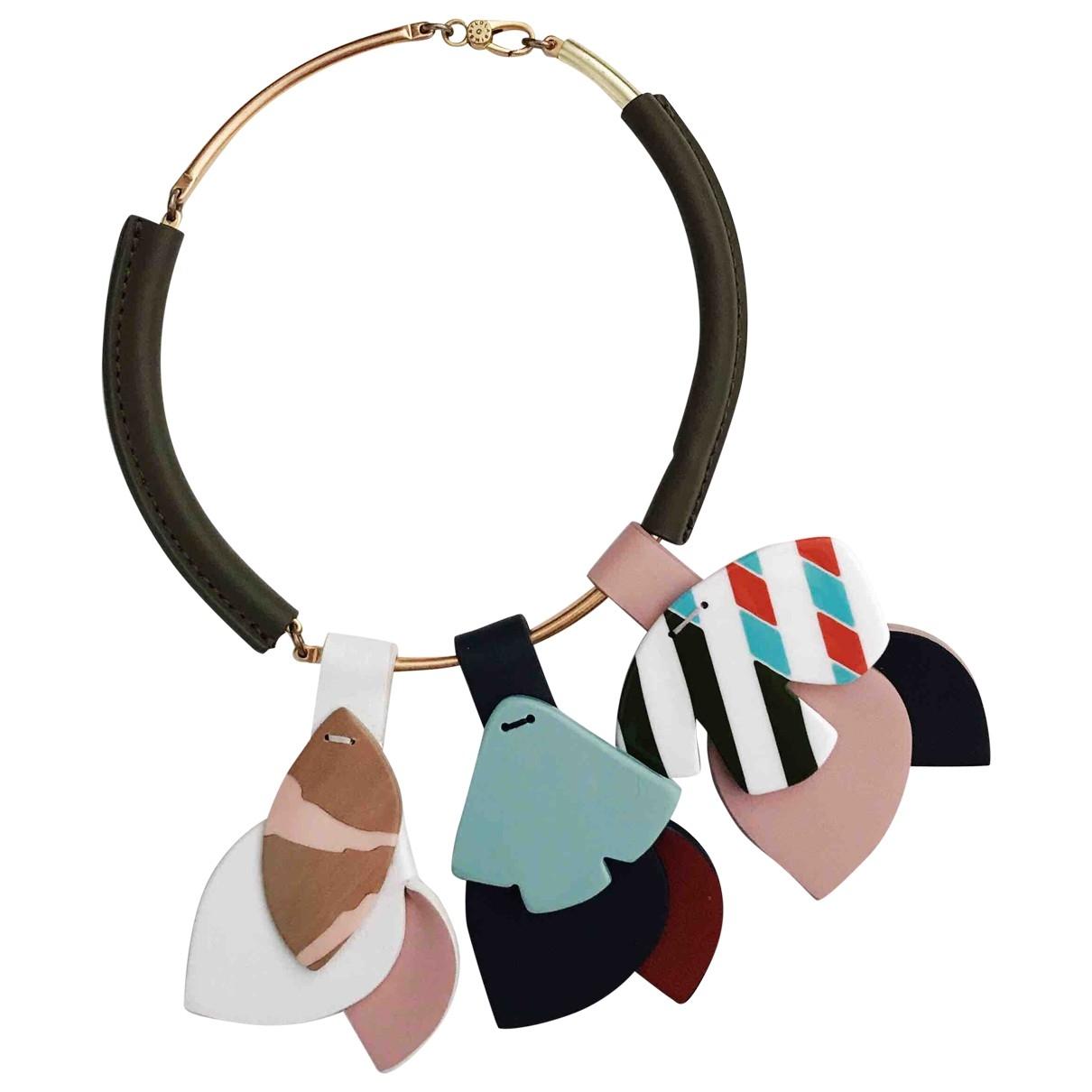 Bimba Y Lola - Bracelet   pour femme en bois - multicolore
