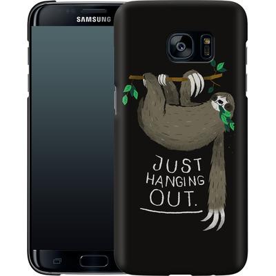 Samsung Galaxy S7 Edge Smartphone Huelle - Just Hanging Out von Louis Ros