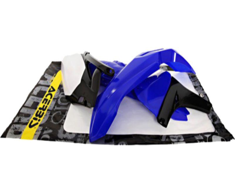 Acerbis 2171880145 Plastic Kit Blue/Black/White Yamaha YZ450F 10-13