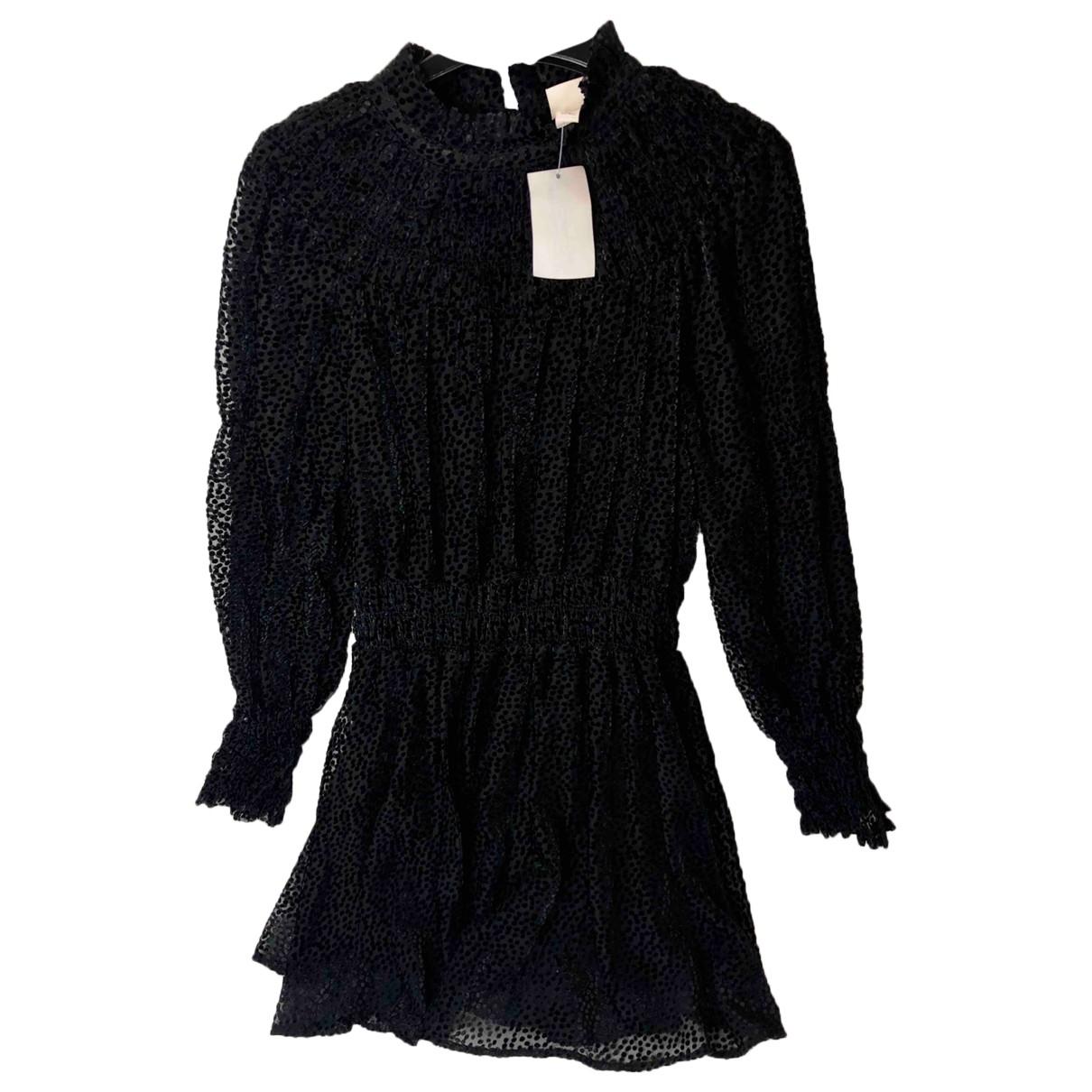 Non Signé / Unsigned \N Black Velvet dress for Women 36 IT