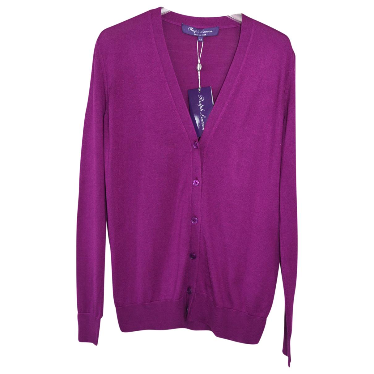 Ralph Lauren Purple Label - Veste   pour femme en soie - violet