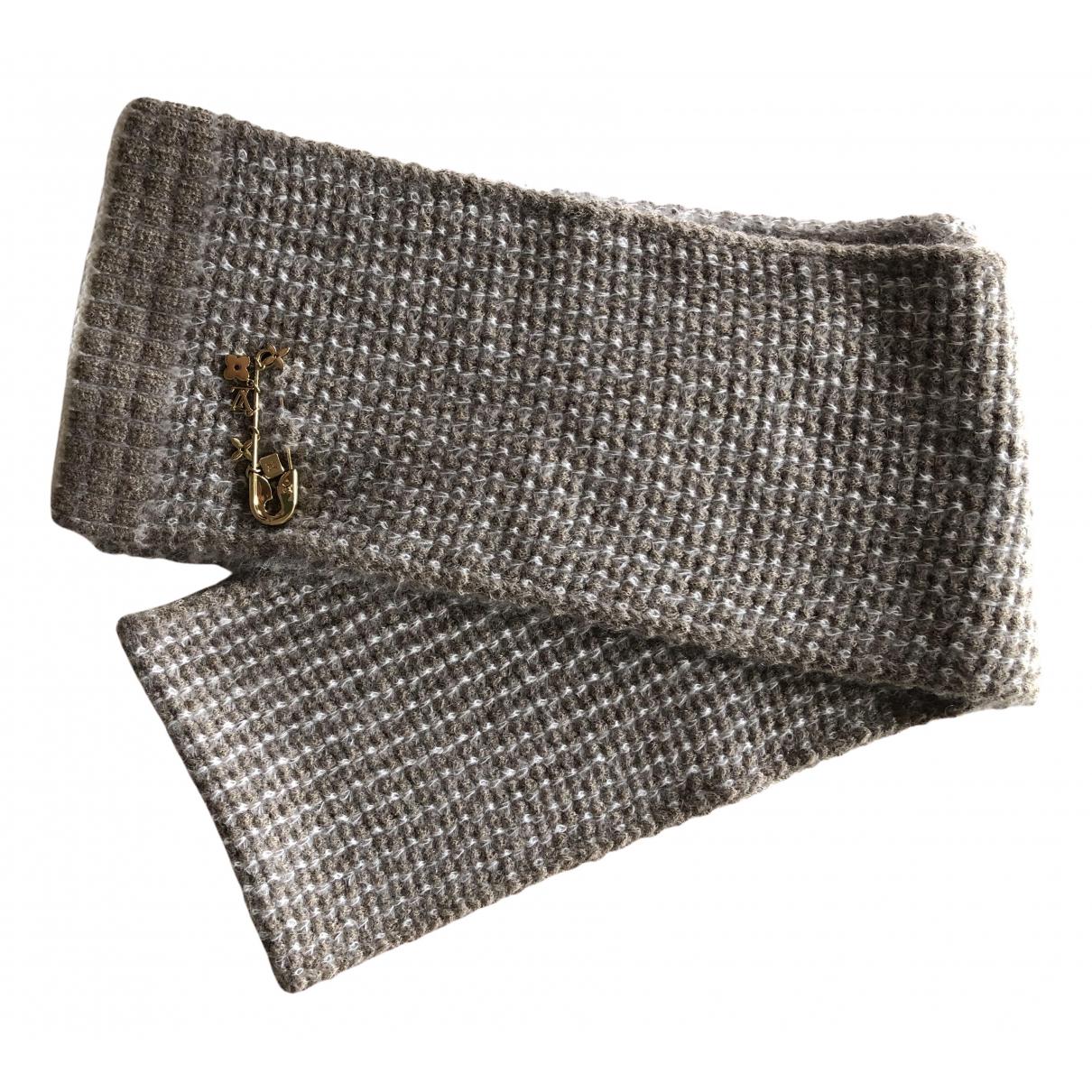 Louis Vuitton \N Schal in  Beige Wolle