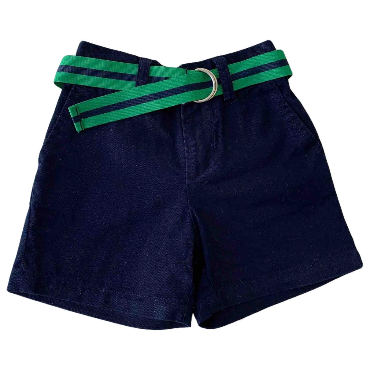 Ralph Lauren \N Shorts in  Marine Baumwolle