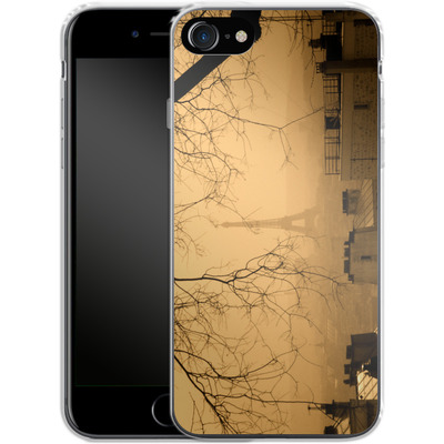 Apple iPhone 8 Silikon Handyhuelle - Paris von caseable Designs
