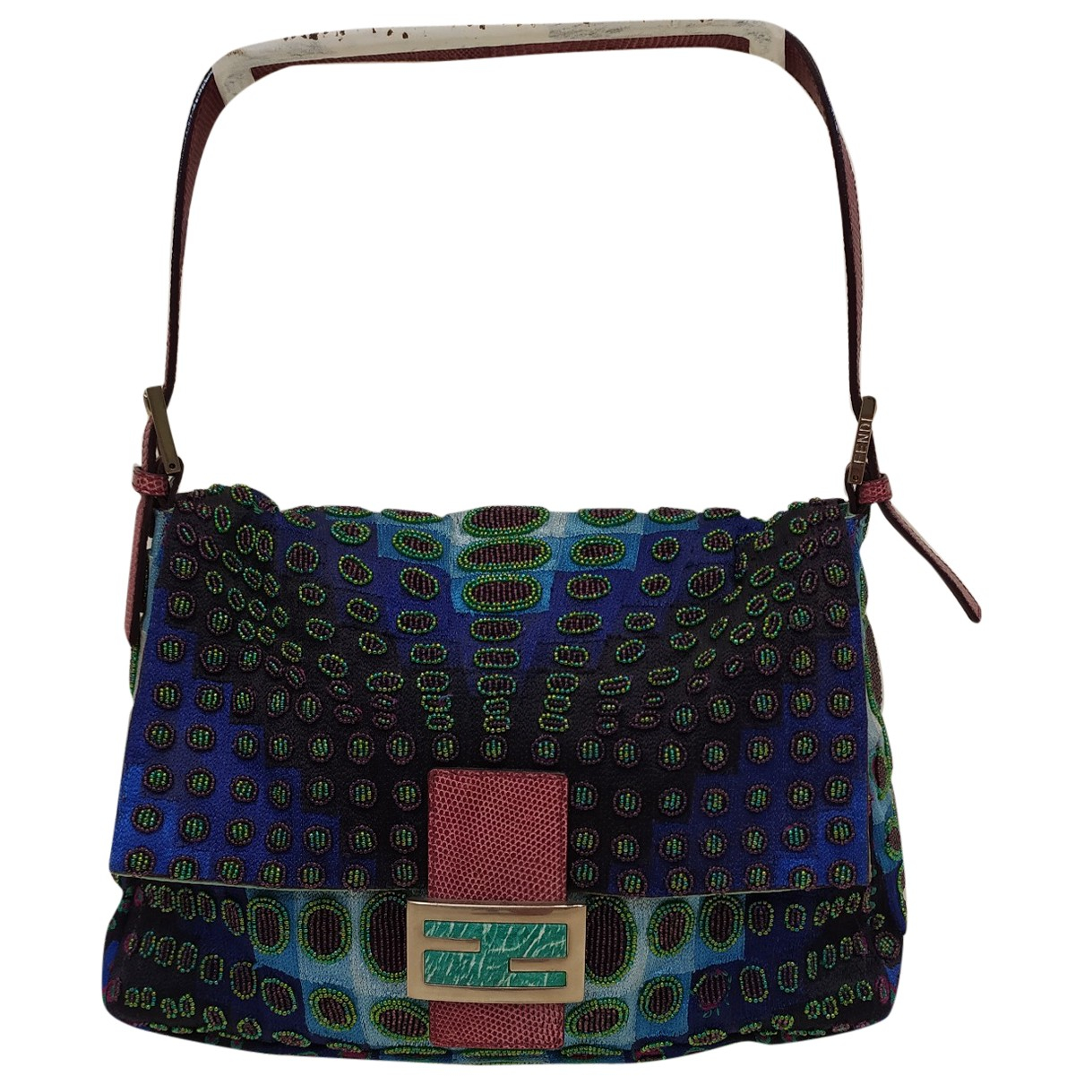 Fendi Mamma Baguette  Multicolour Cloth handbag for Women \N