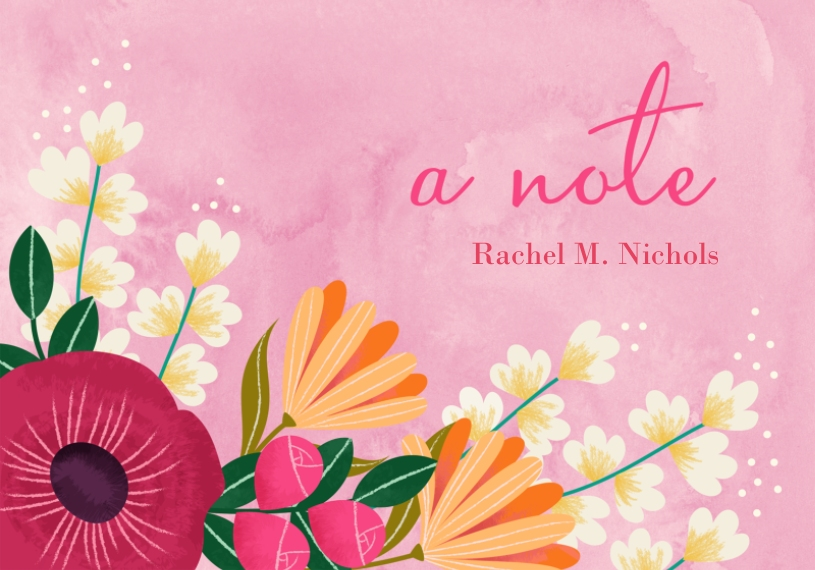 For Her 3.5x5 Flat Notecard, Card & Stationery -Mothers Day Garden