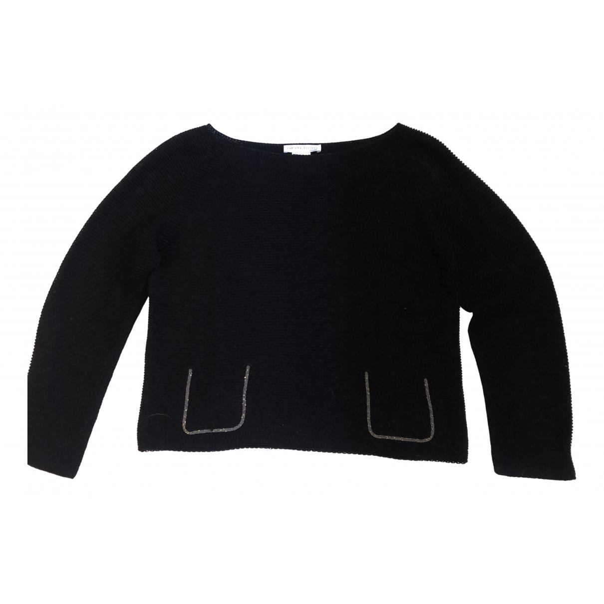 Fabiana Filippi - Pull   pour femme en coton - noir