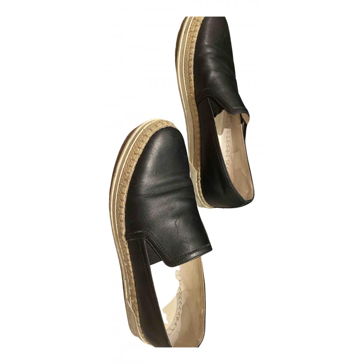 Tods - Baskets   pour femme en cuir - noir