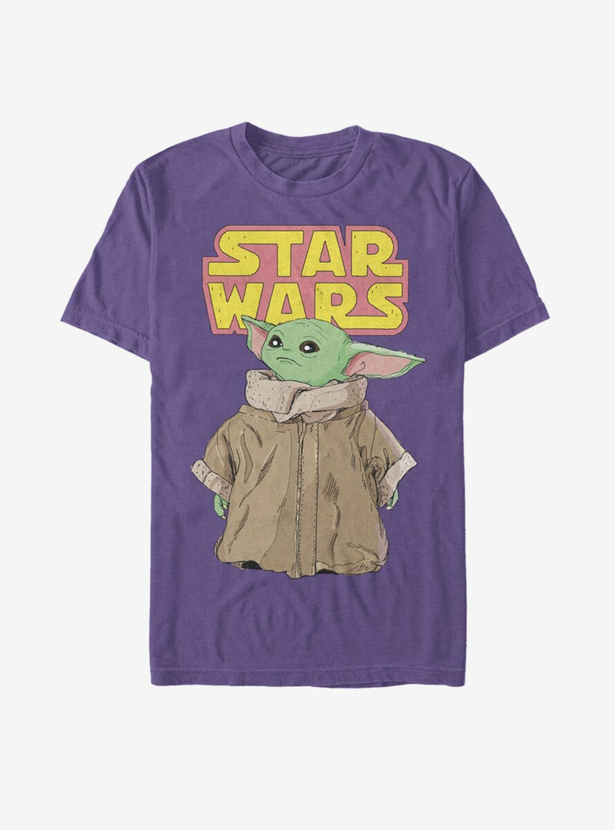 Star Wars The Mandalorian The Child Dreamy Gaze T-Shirt