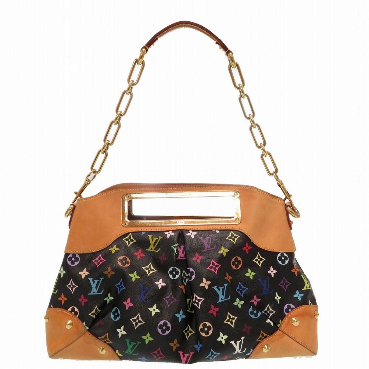 Louis Vuitton Judy Handtasche in  Schwarz Leinen