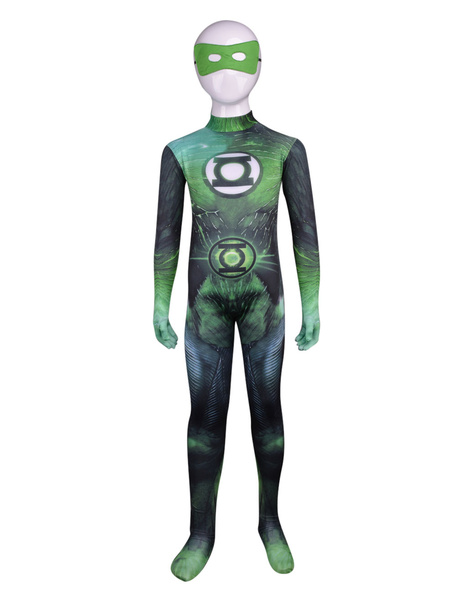 Milanoo Halloween Unisex Multi Color Lycra Kids' Cosplay Zentai Suits Halloween