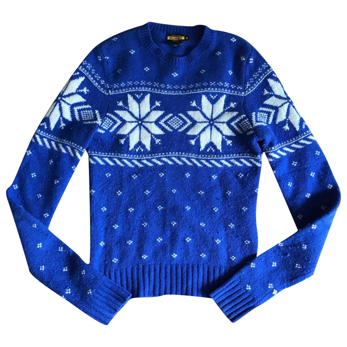 Rugby Ralph Lauren \N Blue Wool Knitwear for Women S International