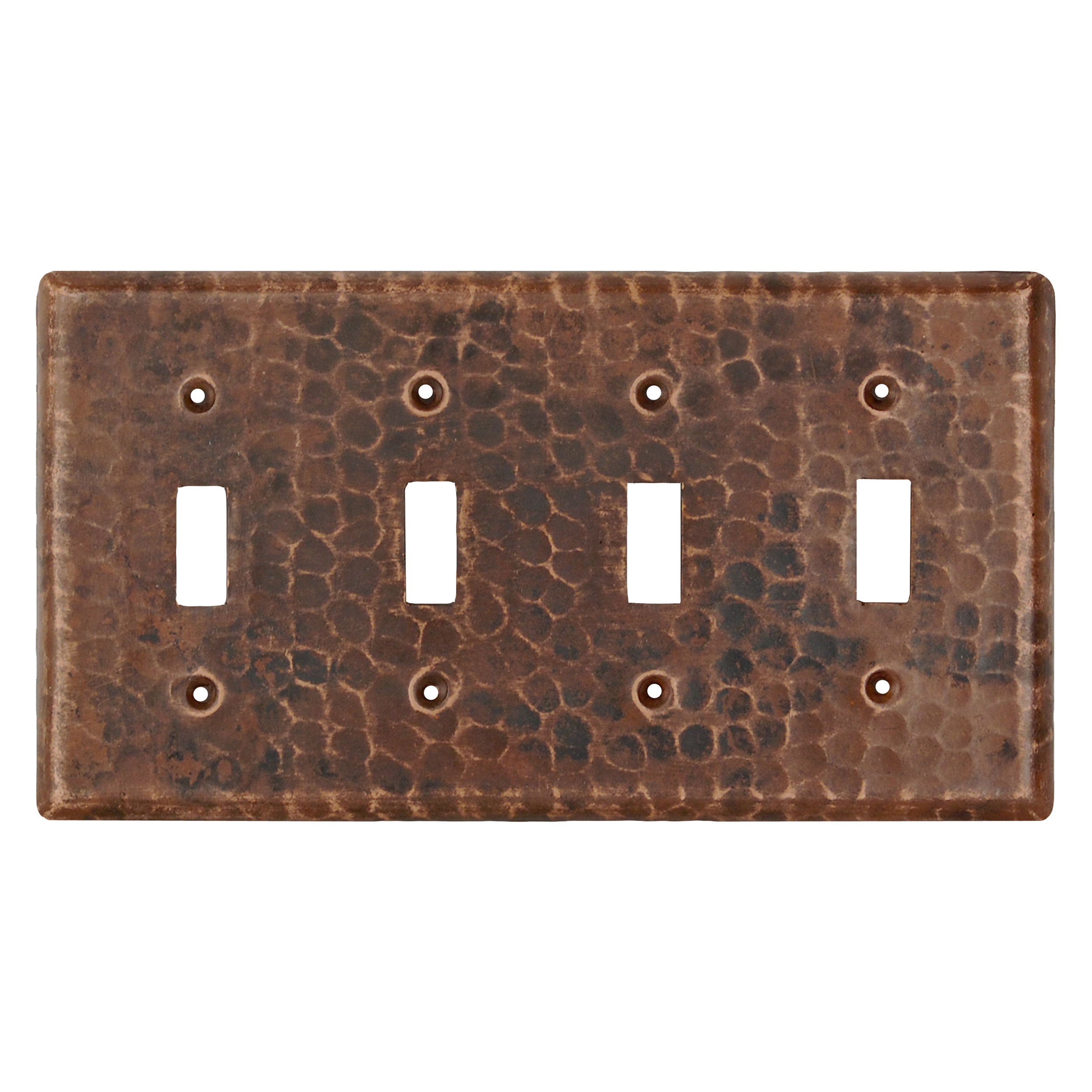 Switchplate Cover - Quadruple Toggle Switch
