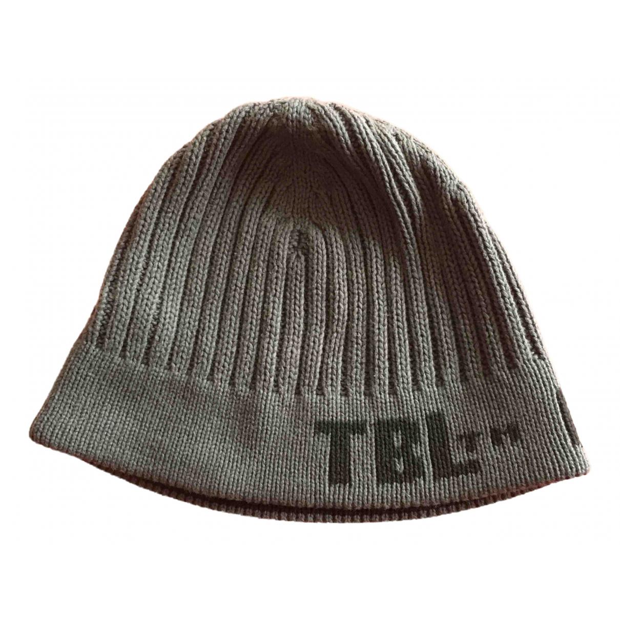 Timberland N Grey Wool hat & Gloves for Kids N