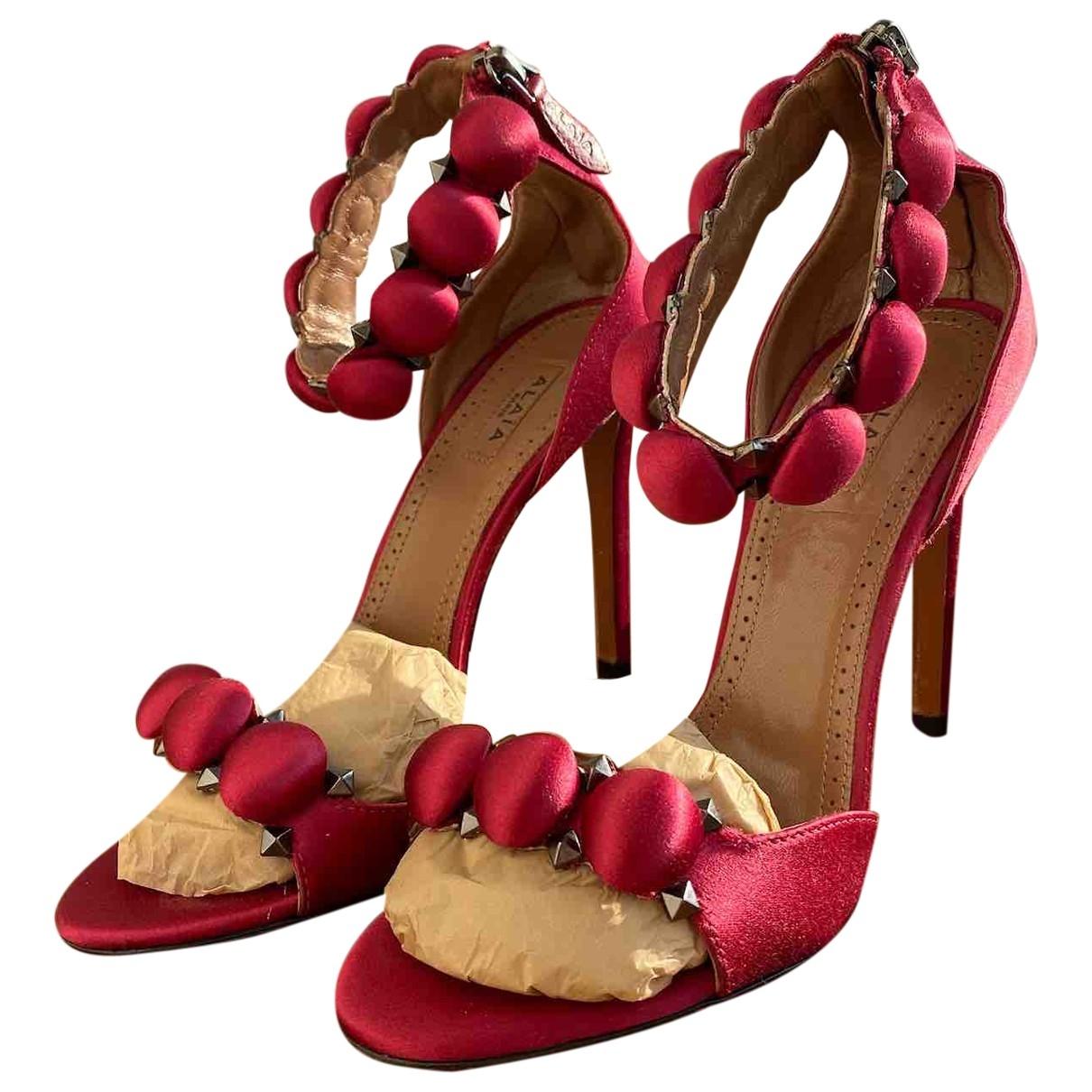 Sandalias de Lona Alaia