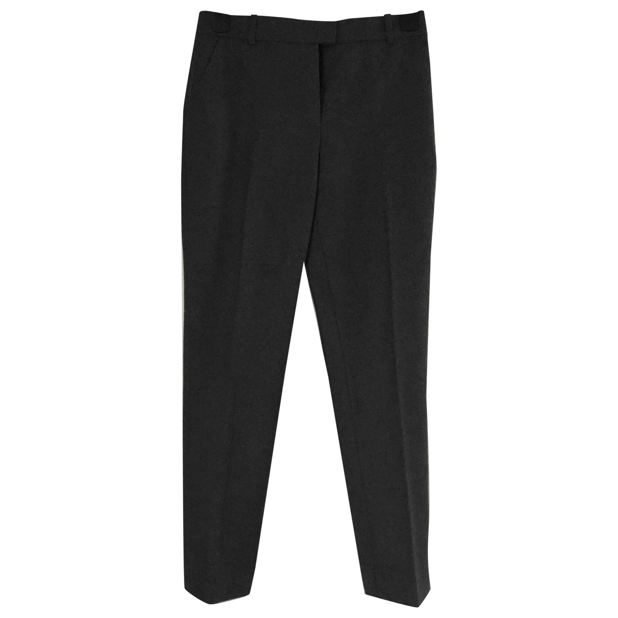 Joseph \N Navy Cotton Trousers for Women 38 FR