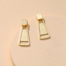 Zipper Stud Earrings