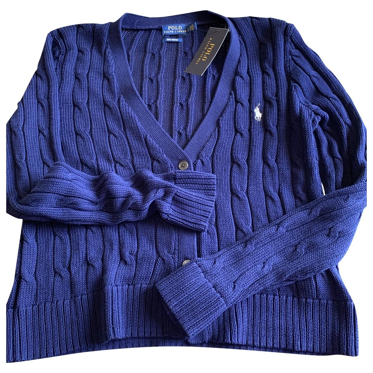 Polo Ralph Lauren \N Pullover in  Blau Baumwolle
