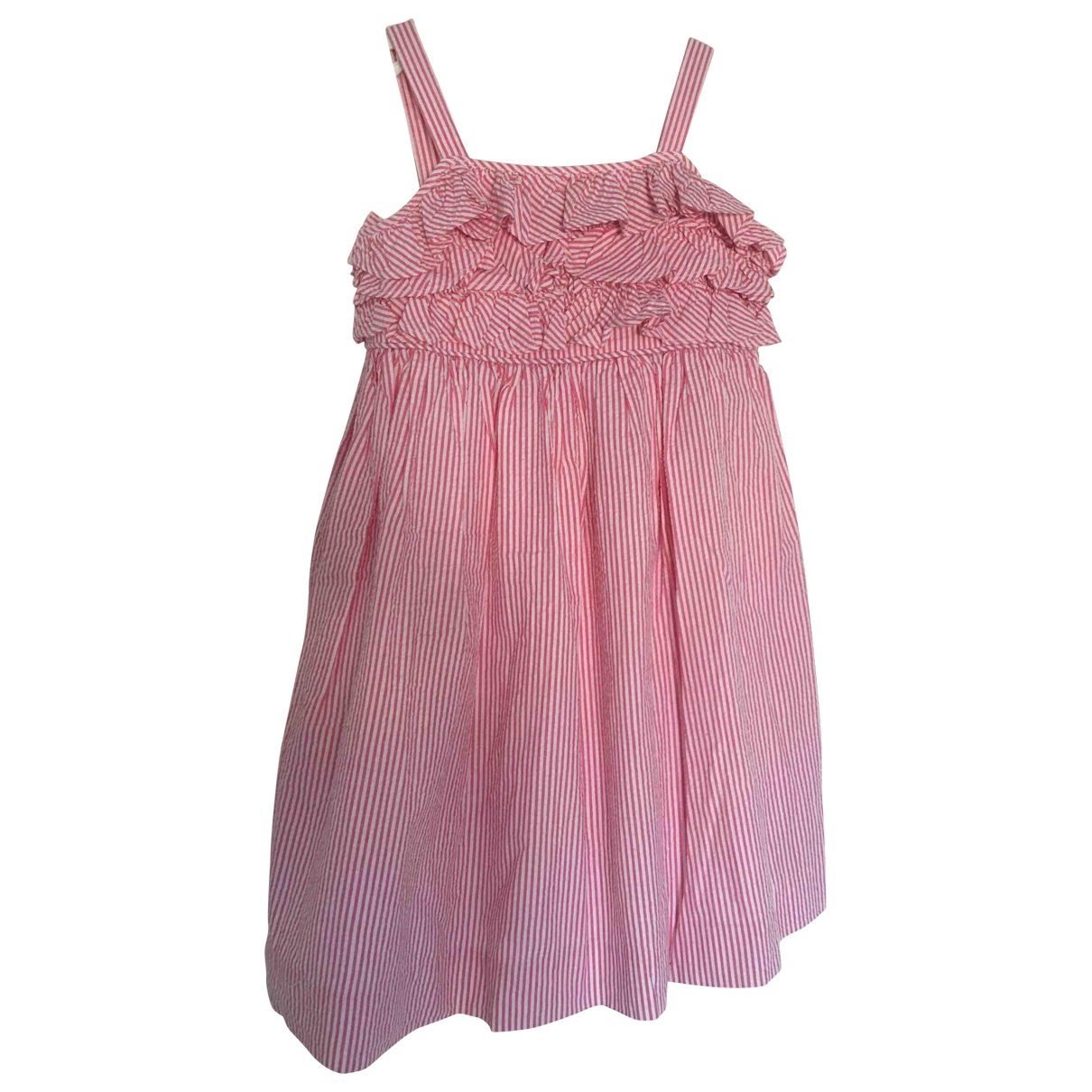 Ralph Lauren \N Red Cotton dress for Kids 5 years - until 42.5 inches UK