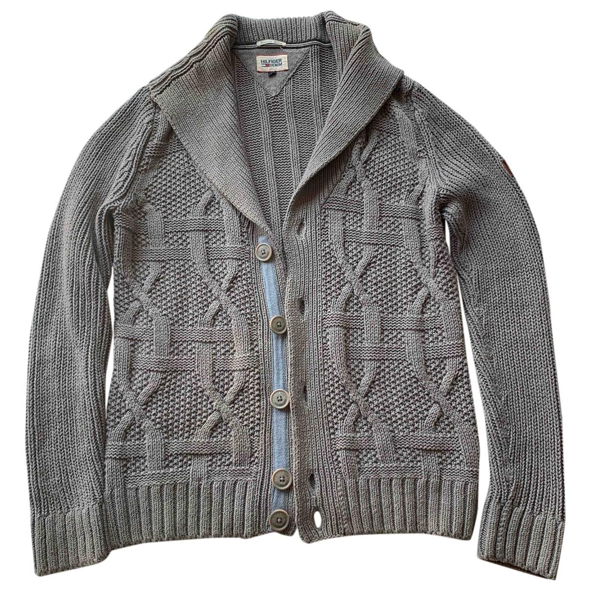 Tommy Hilfiger \N Pullover.Westen.Sweatshirts  in  Grau Wolle