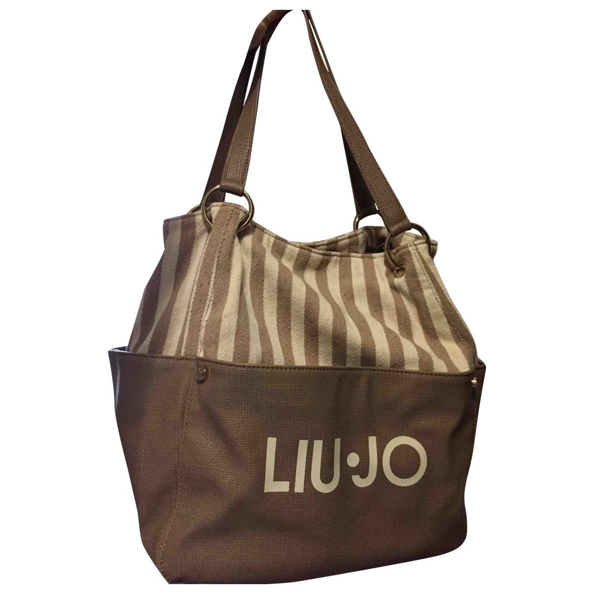 Liu.jo \N Handtasche in  Kamel Baumwolle