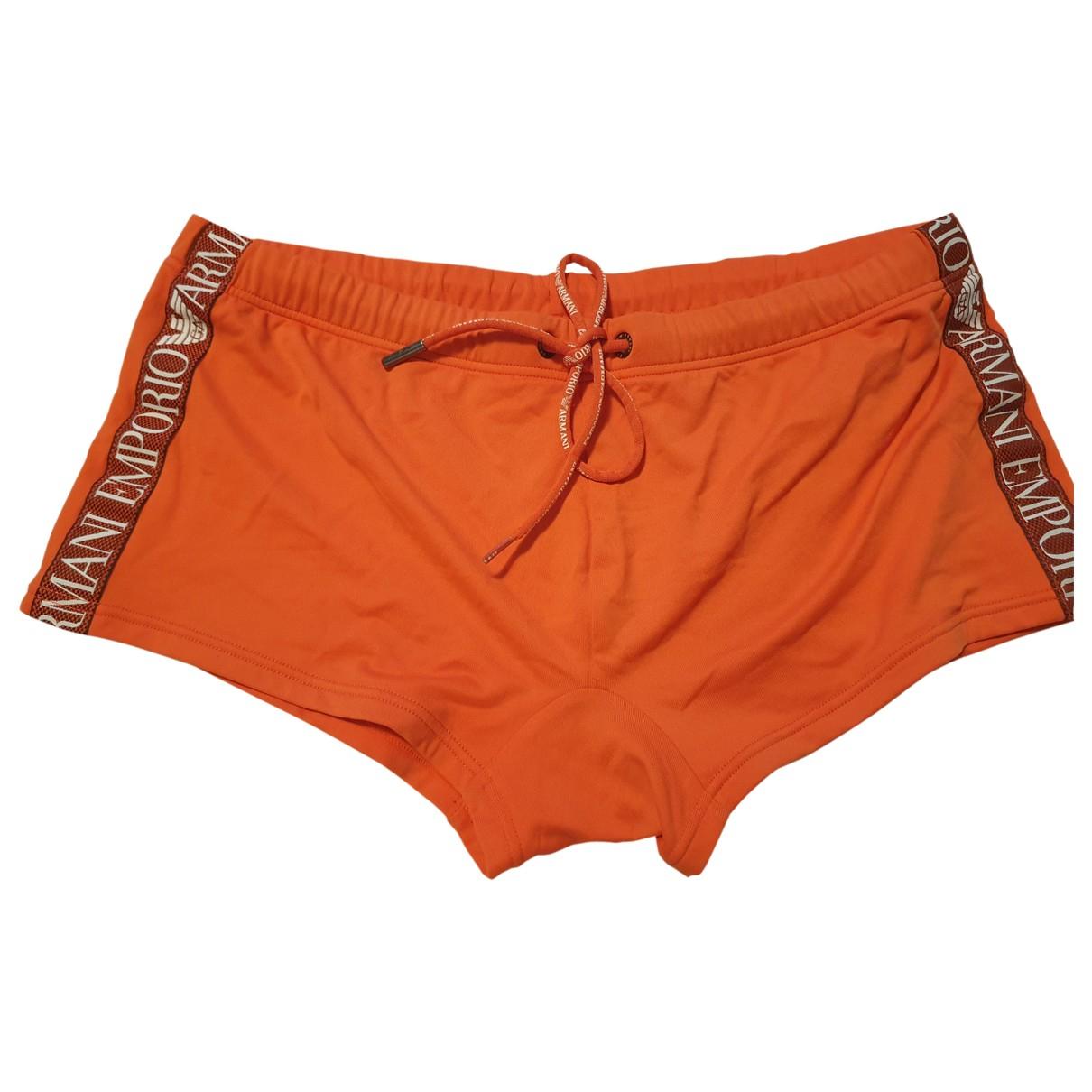 Emporio Armani - Bain   pour homme - orange