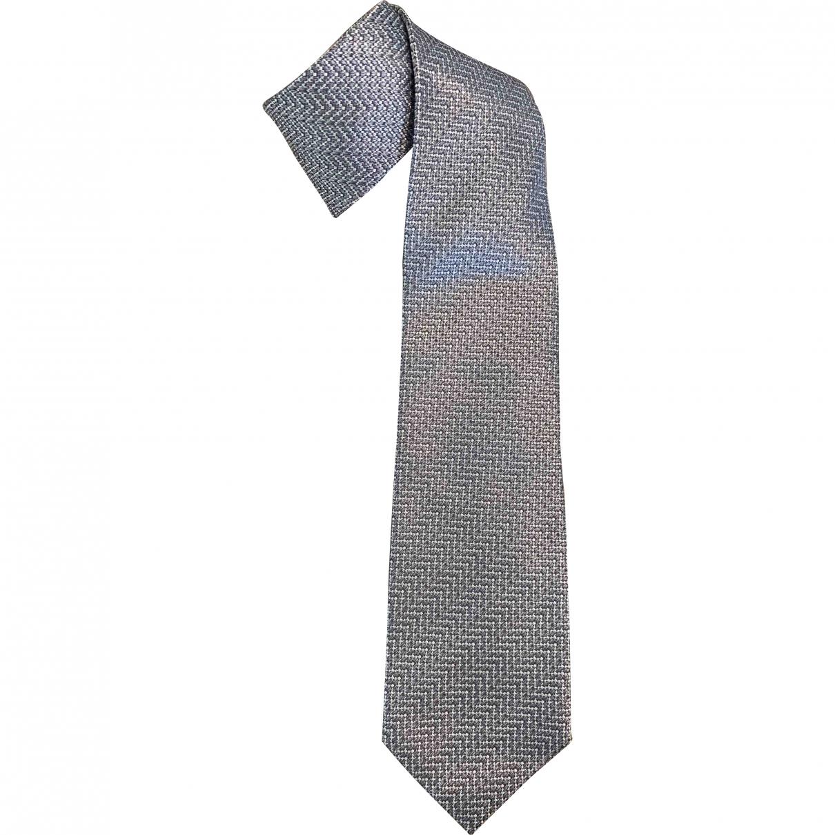 Tom Ford \N Krawatten in  Silber Seide