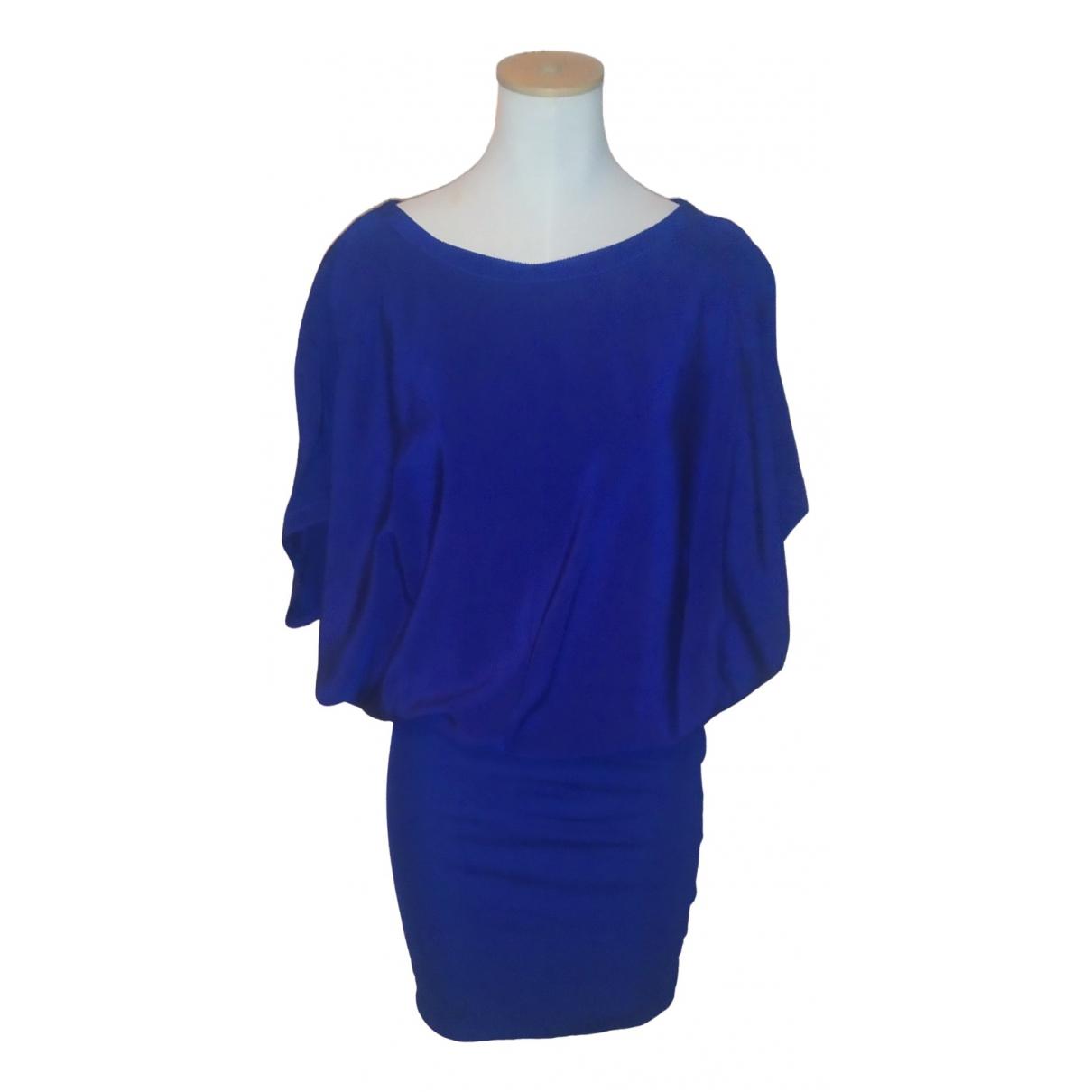 Hoss Intropia \N Kleid in  Blau Seide