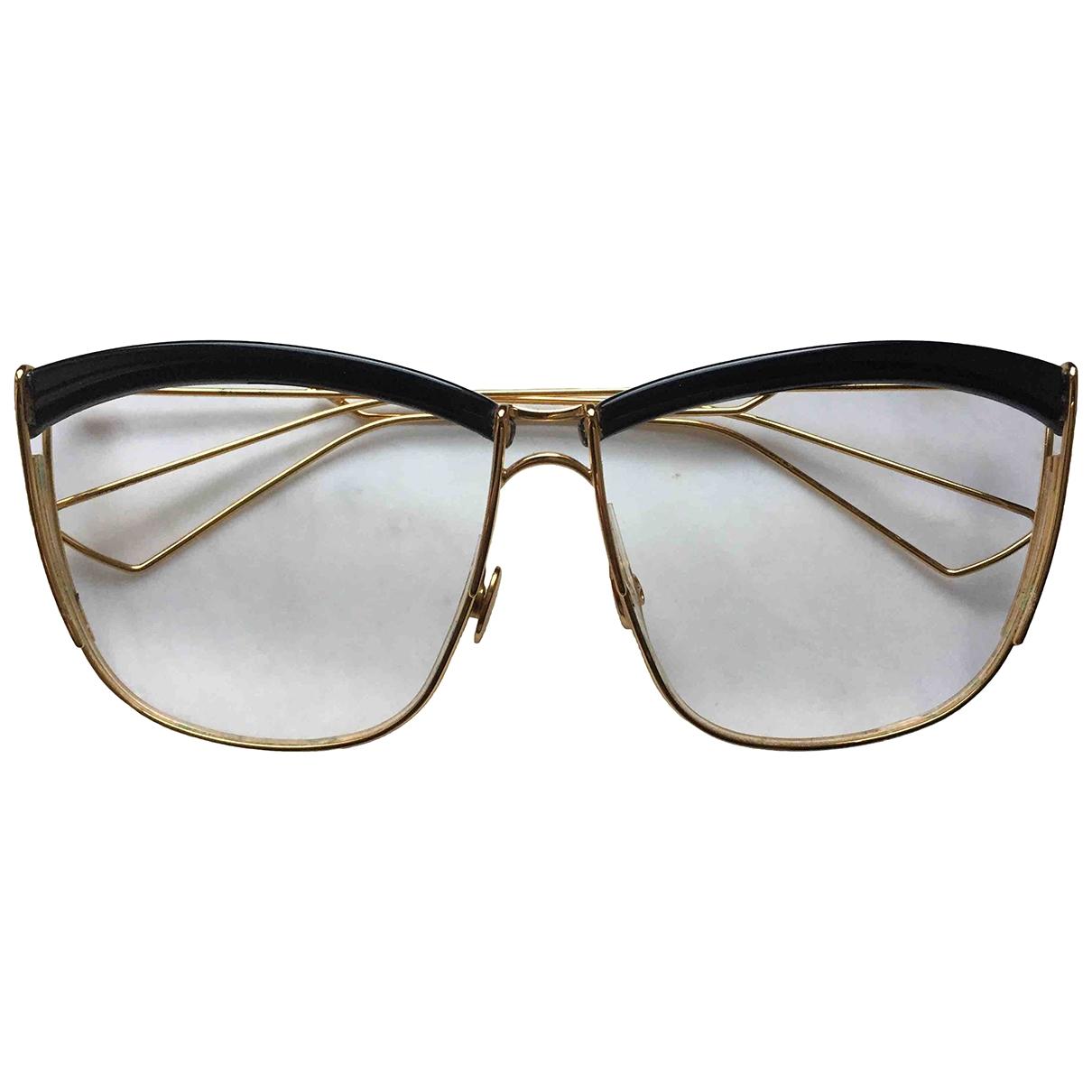 Dior \N Sonnenbrillen in  Gold Metall