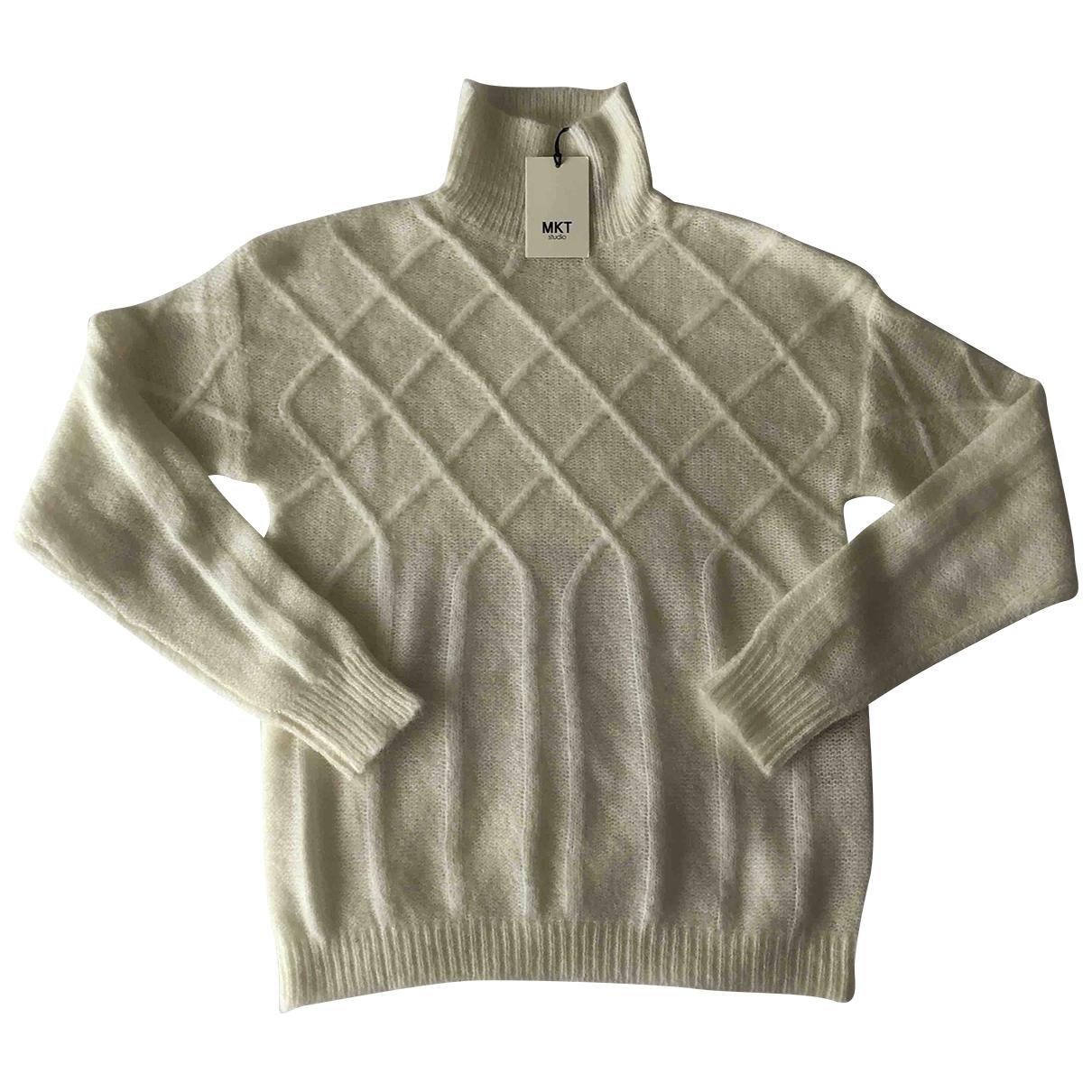 Mkt Studio - Pull   pour femme en laine - ecru