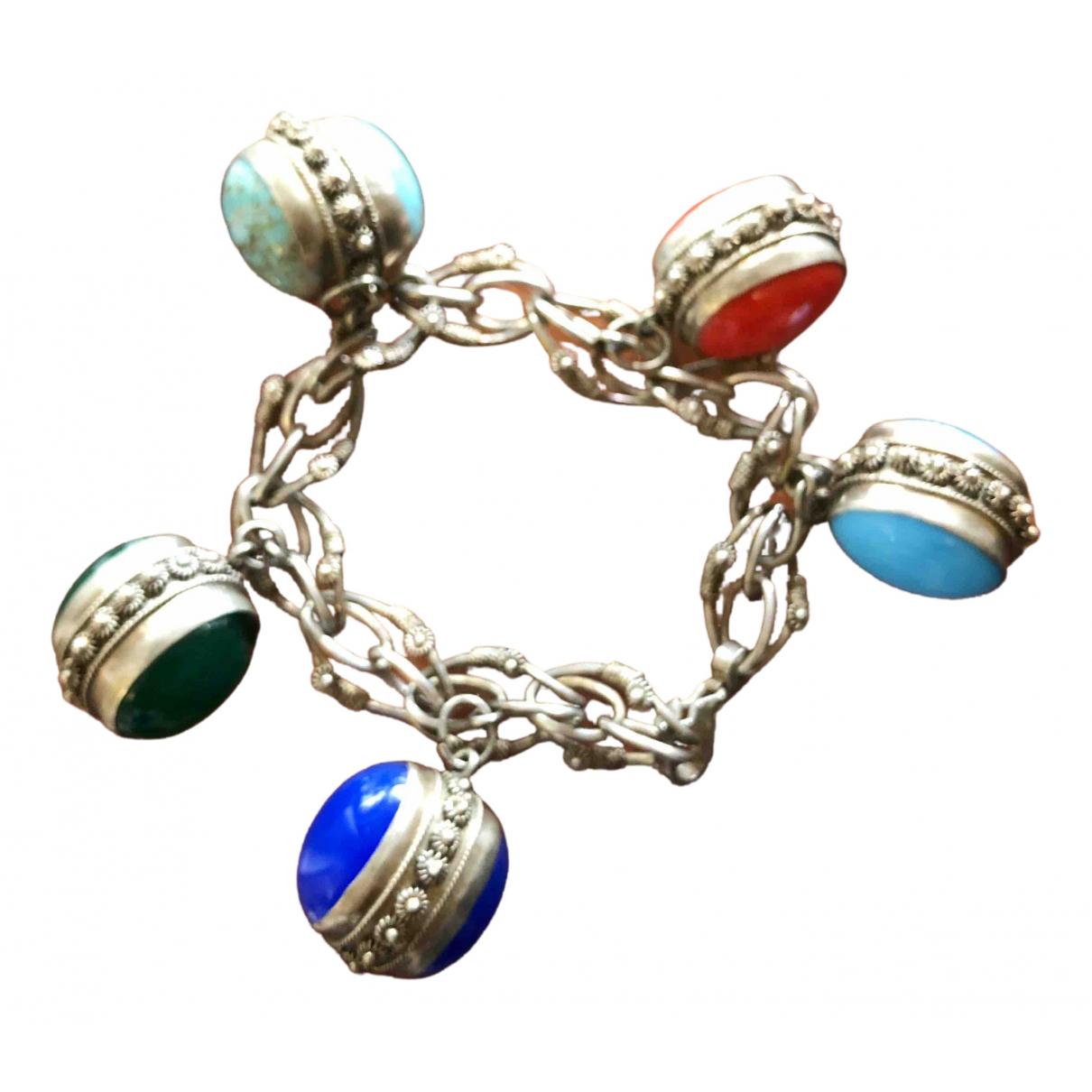 - Bracelet Chaines pour femme en argent - argente