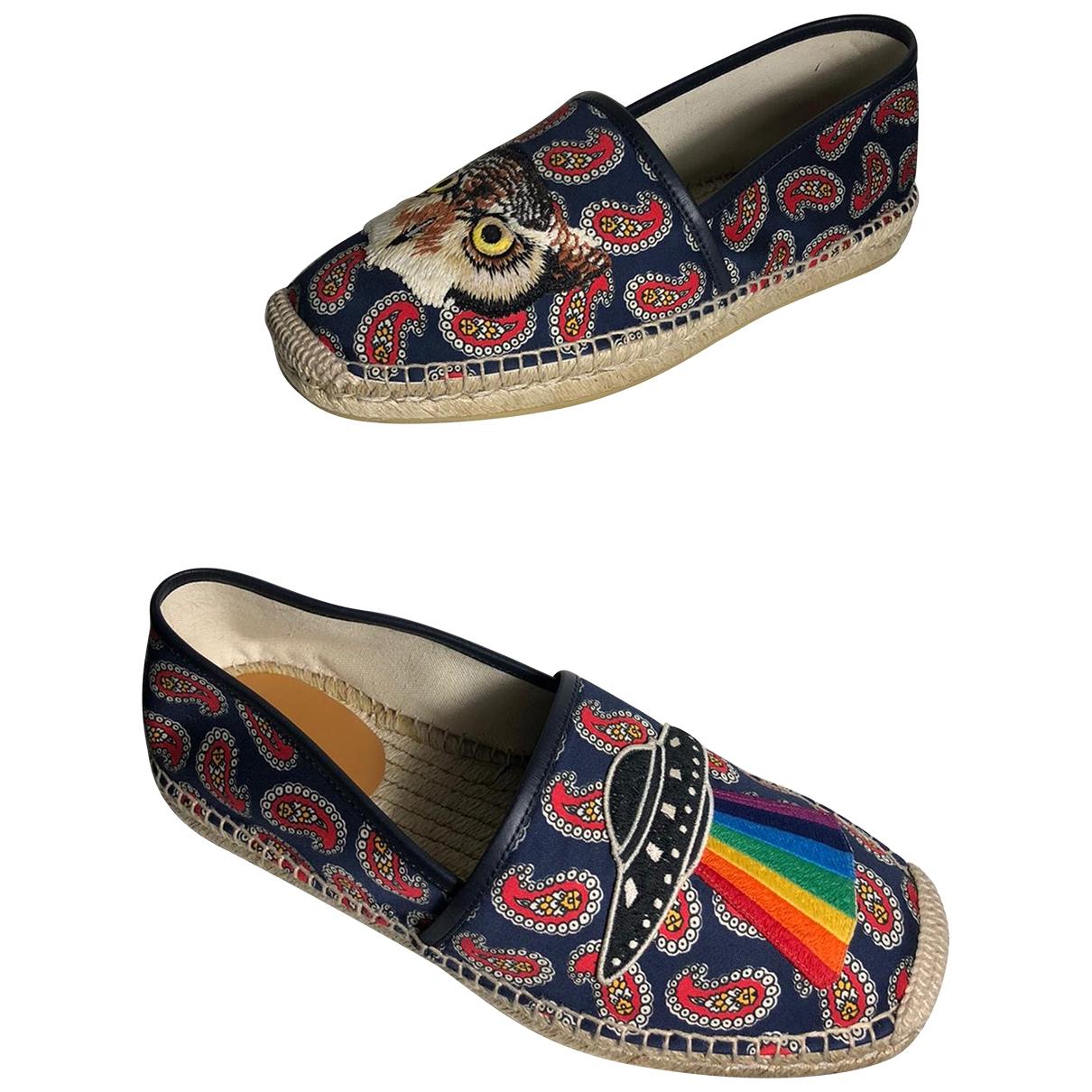 Gucci - Espadrilles   pour homme en toile - multicolore