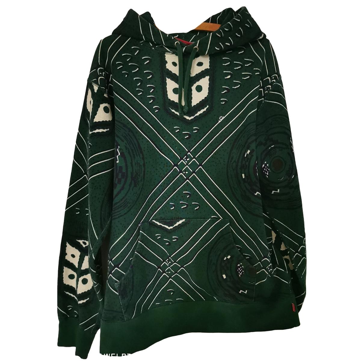 Supreme \N Green Cotton Knitwear & Sweatshirts for Men L International