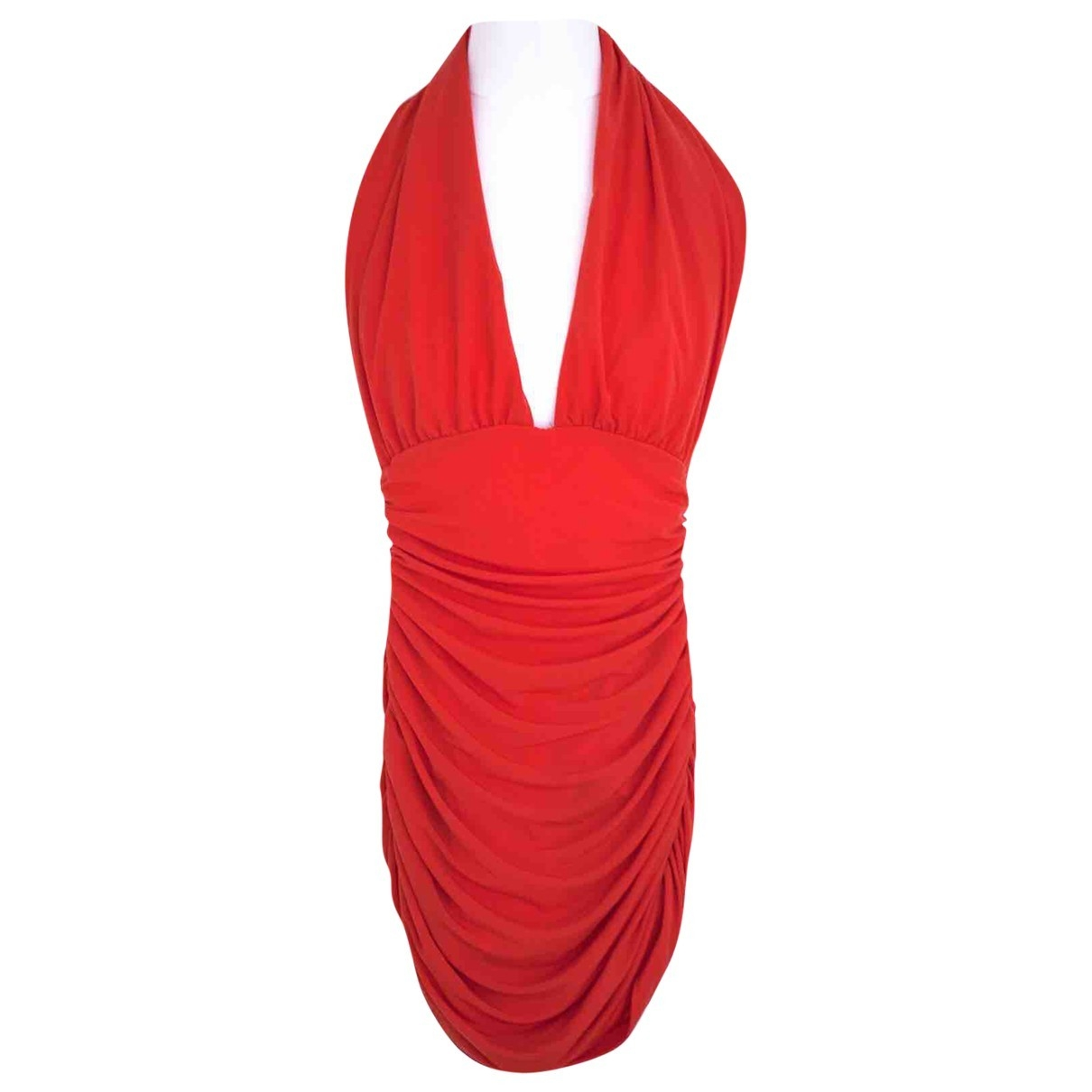 Norma Kamali \N Badeanzug in  Rot Polyester