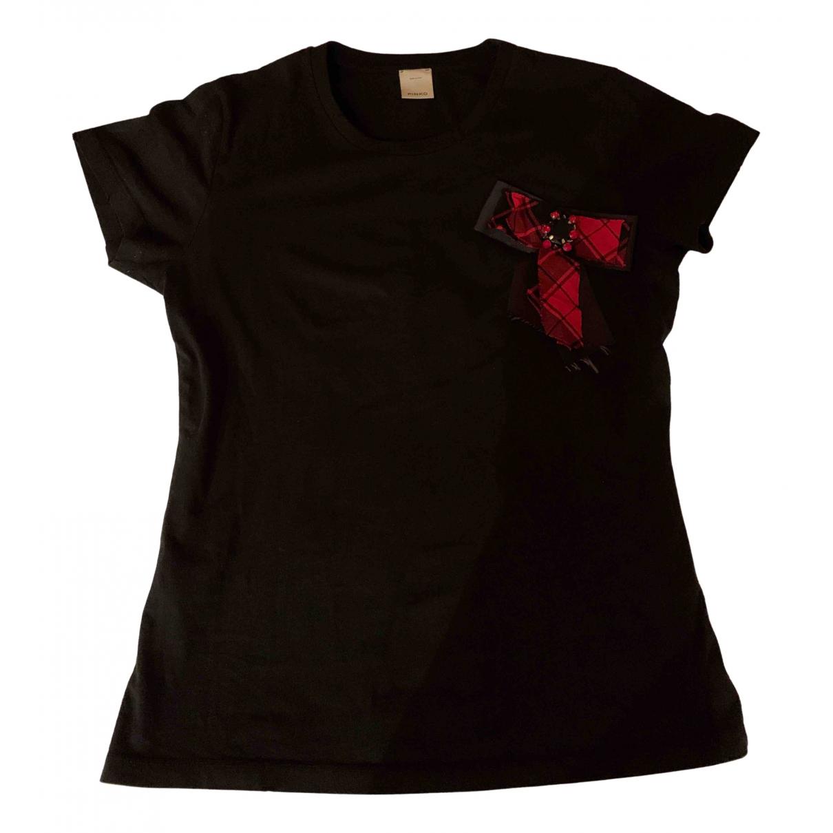 Pinko - Pull   pour femme en coton - noir