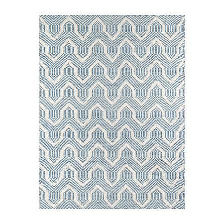 Erin Gates By Momeni Prince Rectangular Indoor Rugs, One Size , Blue