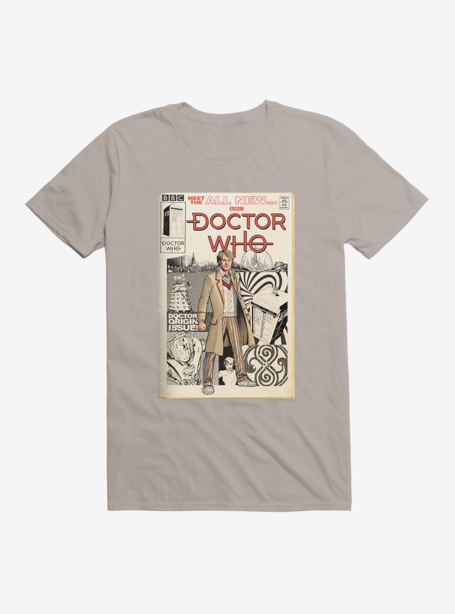 Doctor Who Fifth Doctor Origin Comic T-Shirt
