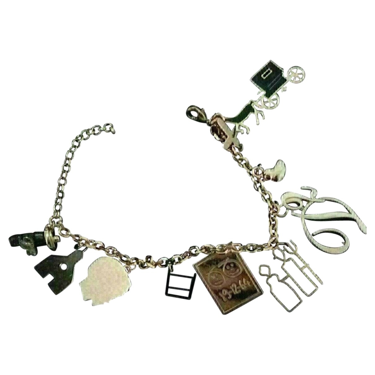 Dsquared2 \N Armband in  Gold Metall