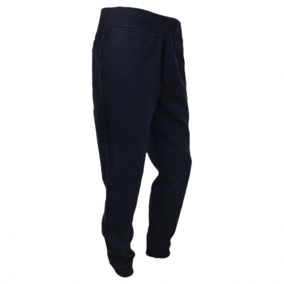 Berluti \N Navy Cotton Trousers for Men 48 FR