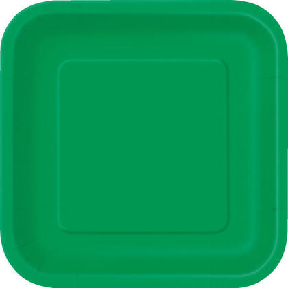 Assiette carrée en papier Party Party 9