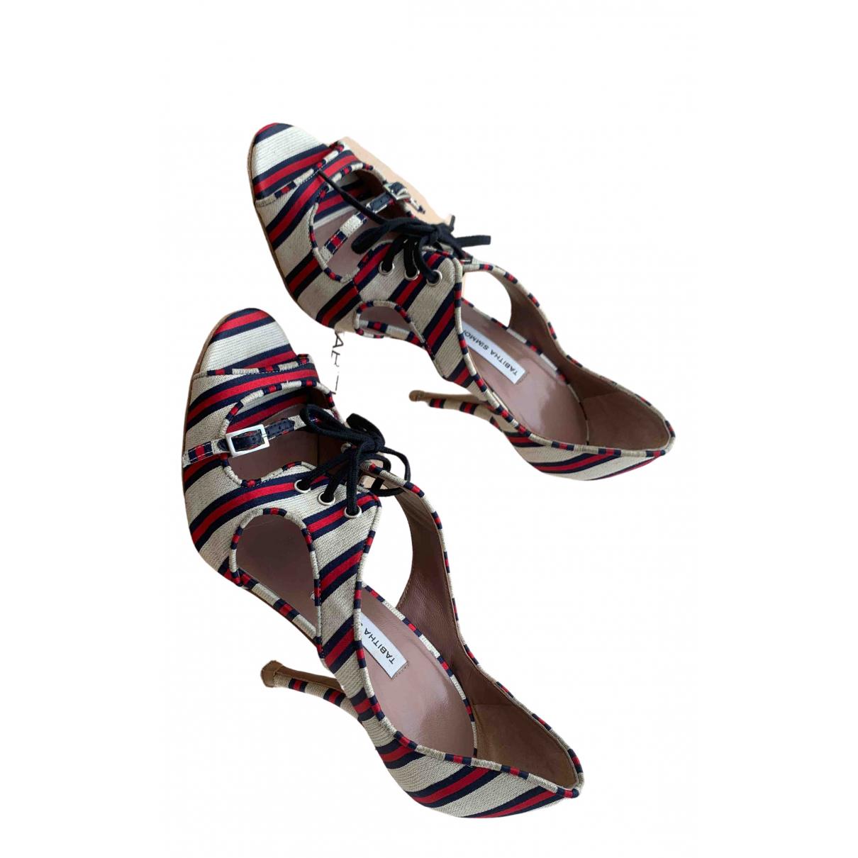 Sandalias de Cuero Tabitha Simmons